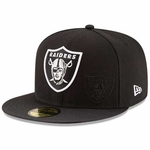 Oakland Raiders New Era 59Fifty 2016 Sideline Cap