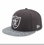 Oakland Raiders New Era 59Fifty Alt Draft Cap