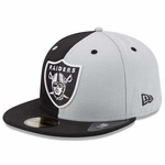Oakland Raiders New Era 59Fifty Blocked Up Fitted Cap
