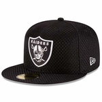Oakland Raiders New Era 59Fifty Checked Cap