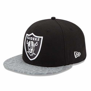 Oakland Raiders New Era 59Fifty Draft Cap - Click to enlarge