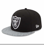 Oakland Raiders New Era 59Fifty Draft Cap