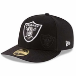 Oakland Raiders New Era 59Fifty Low Profile 2016 Sideline Cap