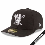 Oakland Raiders New Era 59Fifty Low Profile Pirate Cap