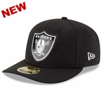 Raiders New Era 59Fifty LP Bevel Cap