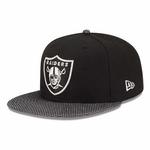 Oakland Raiders New Era 59Fifty Metallic Masher Cap