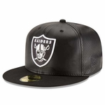 Oakland Raiders New Era 59Fifty Perfly Stated Cap