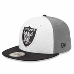 Oakland Raiders New Era 59Fifty Reflistic Fitted Cap