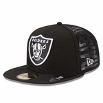 Oakland Raiders New Era 59Fifty Spark Side Cap