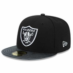 Oakland Raiders New Era 59Fifty Sting Screen Cap