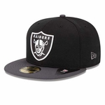 Oakland Raiders New Era 59Fifty Team Basic Cap