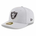 Oakland Raiders New Era 59Fifty Team Tonal Low Profile Cap