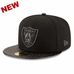 Oakland Raiders New Era 59Fifty Tile Vize Cap