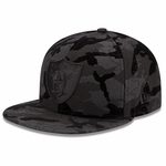 Oakland Raiders New Era 59Fifty Tonal Camo 2 Cap