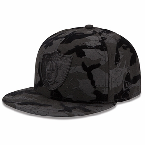 Oakland Raiders New Era 59Fifty Tonal Camo 2 Cap - Click to enlarge