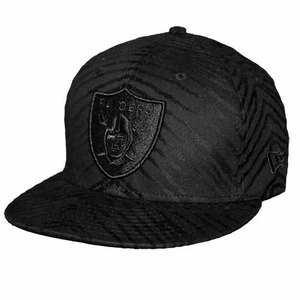 Oakland Raiders New Era 59Fifty Untamed Tone Cap - Click to enlarge