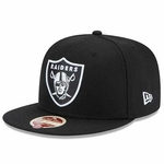 Oakland Raiders New Era 59Fifty Wool Basic