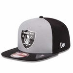 Oakland Raiders New Era 9Fifty 2015 Alternate Draft Cap