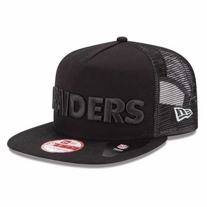 Oakland Raiders New Era 9Fifty A-Frame Tip to Scale Cap - Click to enlarge