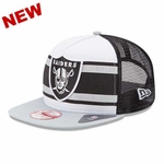 Oakland Raiders New Era 9Fifty Band Slap Cap