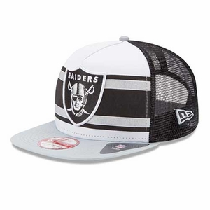 Oakland Raiders New Era 9Fifty Band Slap Cap - Click to enlarge