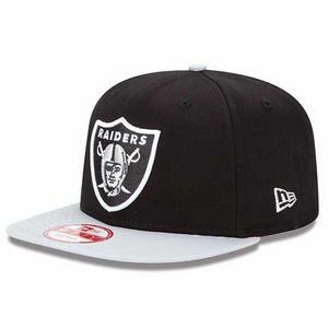 Oakland Raiders New Era 9Fifty Baycik Snapback Cap - Click to enlarge