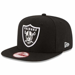 Oakland Raiders New Era 9Fifty Block Back