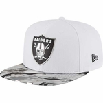 Oakland Raiders New Era 9Fifty Color Rush Cap