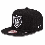 Oakland Raiders New Era 9Fifty Denim Snapback
