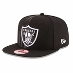 Oakland Raiders New Era 9Fifty Flag Front Redux Snap