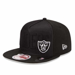 Oakland Raiders New Era 9Fifty Frontflect Snap
