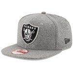 Oakland Raiders New Era 9Fifty Grey Ribbon Back