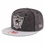 Oakland Raiders New Era 9Fifty Khalil Mack 63 Black Cap