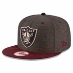 Oakland Raiders New Era 9Fifty Khalil Mack Maroon Cap