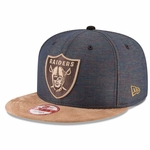 Oakland Raiders New Era 9Fifty Khalil Mack Tan Cap