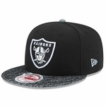 Oakland Raiders New Era 9Fifty Metric Vize