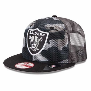 Oakland Raiders New Era 9Fifty Neon Cap - Click to enlarge