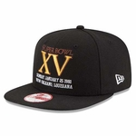 Oakland Raiders New Era 9Fifty Patch Champs Super Bowl XV
