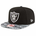 Oakland Raiders New Era 9Fifty Print Play Aztec Cap