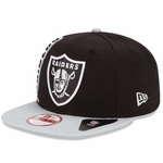 Oakland Raiders New Era 9Fifty Rally Mark Cap