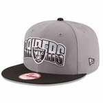 Oakland Raiders New Era 9Fifty Shaded Snap