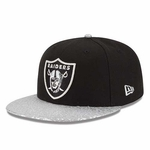 Oakland Raiders New Era 9Fifty Snap Foiler Cap