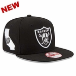 Oakland Raiders New Era 9Fifty State Clip