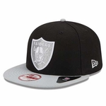 Oakland Raiders New Era 9Fifty Team Hasher Super Bowl Cap