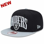 Oakland Raiders New Era 9Fifty Team Lead