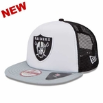 Oakland Raiders New Era 9Fifty Team Mesh Cap