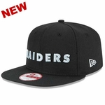 Oakland Raiders New Era 9Fifty Throwback Snap Cap