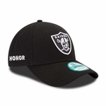 Oakland Raiders New Era 9Forty 2016 Foundation Honor Cap