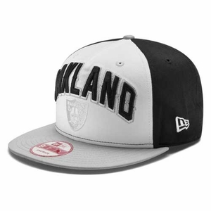 Oakland Raiders New Era 9Forty Draft Snapback Cap - Click to enlarge