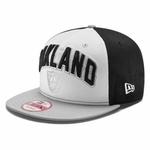 Oakland Raiders New Era 9Forty Draft Snapback Cap